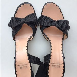 Moschino Lace Tie Heels